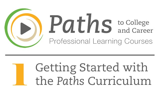 PATHS1 Getting Started with the Paths Curriculum Cover Image