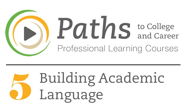 PATHS5 Building Academic Language Cover Image