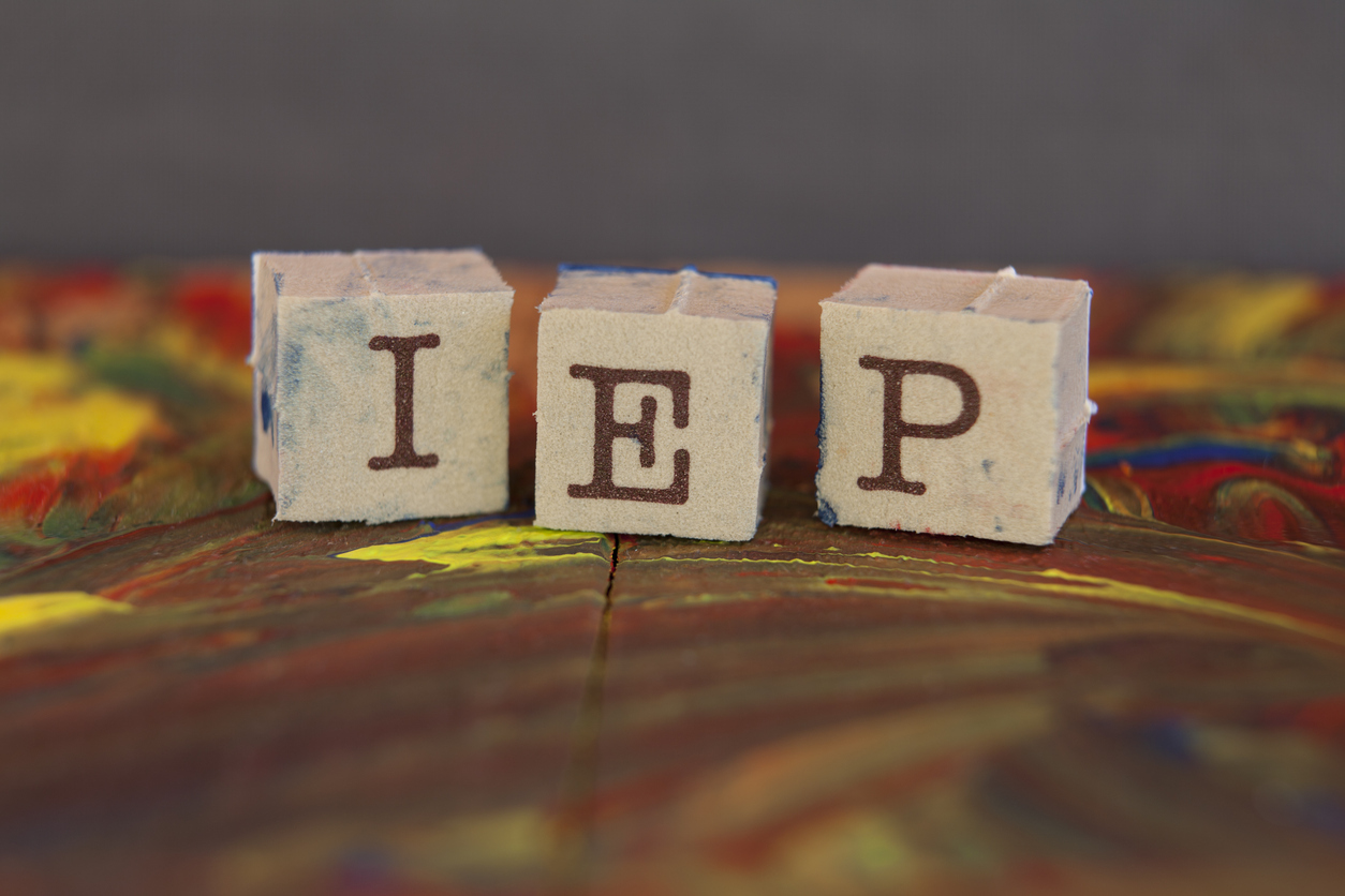 SE507 Individualized Education Program (IEP) Cover Image