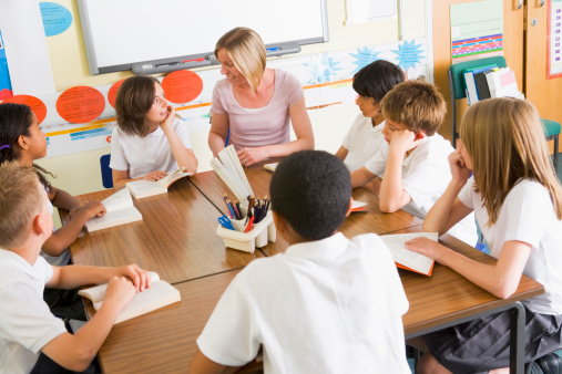 POW313 Literature Circles for the Elementary Classroom Cover Image